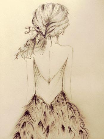 Art Sketch Drawing Draw ArtWork Art, Drawing, Creativity Artist Girl Girl Drawing Photography
