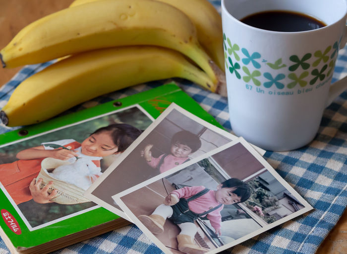 I've loved banana ever since I was a little kid. 小さな子供の頃からバナナ好き🍌 ThatsMe Memories Portrait Child Photography Oldphoto Album Me Olympus Olympus Om-d E-m10 EyeEm Fruit Banana