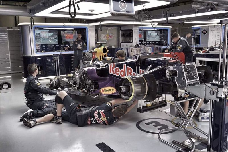 Formula 1 Pithouse Infiniti Shanghai Grand Pix
