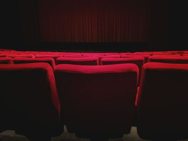 The Show Cinema Cinema In Your Life Stage Film Film Industry Red Color Curtain Fabric Seats Seat Empty Space Darkness And Light Empty Seats Ambiance Quiet Premiere EyeEm Best Shots EyeEm Gallery EyeEm Selects EyeEm Masterclass EyeEm The Best Shots EyeEm LOST IN London Showing Arts Culture And Entertainment Empty Stage Theater Indoors  No People MOVIE Backgrounds