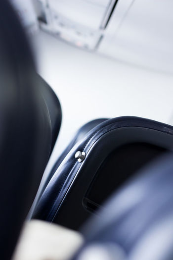 ... Chair Close-up Mode Of Transport Plane Interior Selective Focus Transportation