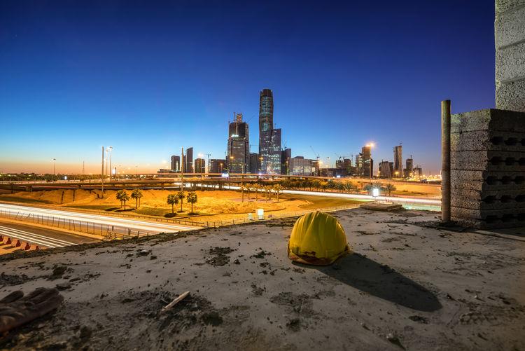 Archetecture Cityscape Construction Development KAFD King Abdullah Financial District Landscape Riyadh Saudi Arabia