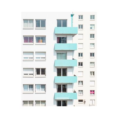 Window Residential Building City Building Exterior Architecture House City Life Built Structure Community Cityscape Outdoors No People Photography Minimalism Fine Art Photography Contemporary Art Colors Façade