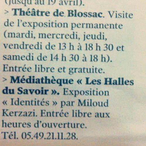 Expo Identite (s) Chatellerault Presse