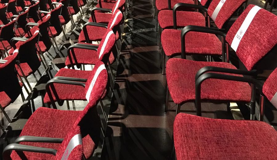 Theatre Seats Available Seats Red Pause Take A Break My Favorite Photo Enjoying Life No People