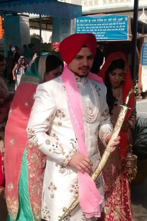 Weddings Around The World Punjabi Wedding  Groom Colors New Start