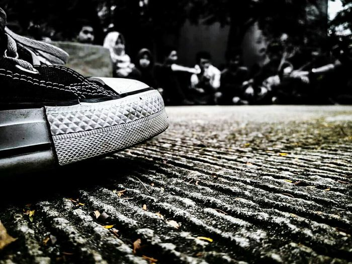 Fokus! Converse Photography INDONESIA GoodDay❤ Light Chrome No People Close-up Day Outdoors