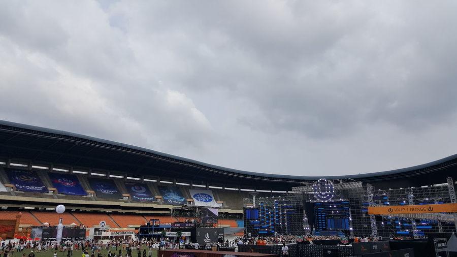 오늘은 그나마 바람이 한점이라도 있구나. Ultrakorea2016 Djkoo
