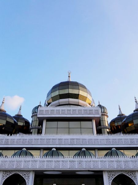 Eid Mubarak Mosque Kuala Terengganu Architecture Dome Built Structure Place Of Worship Travel Destinations