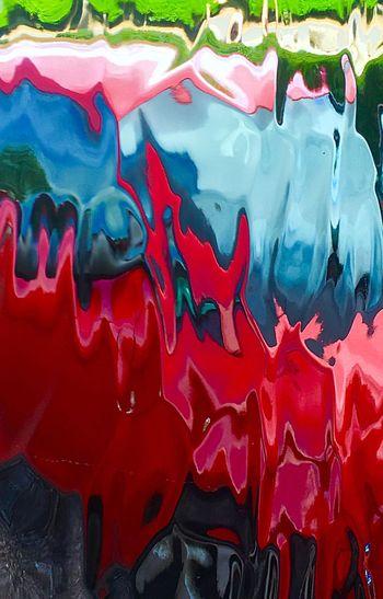 Full frame shot of red water