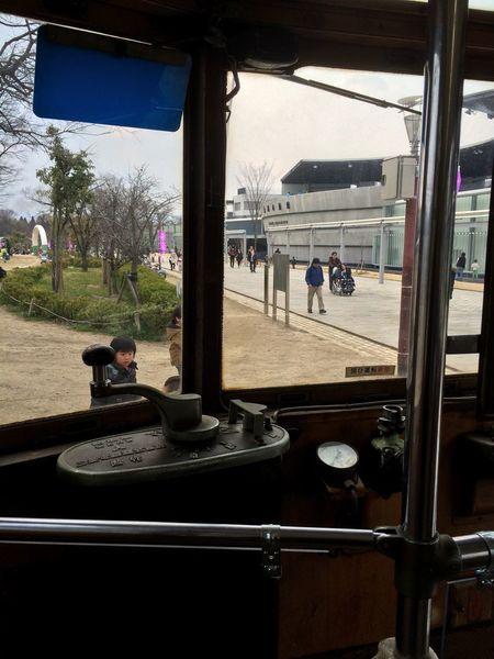 京都 梅小路公園 路面電車