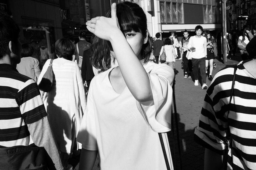 Sunny day-Shibuya, Tokyo, Japan, 2018 Blackandwhite Streetphotography The Street Photographer - 2018 EyeEm Awards