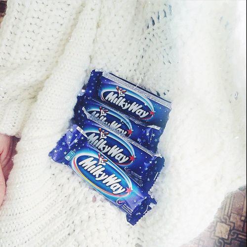 First Eyeem Photo Milky Way Chocolate Eating Hello World Екатеринбург Россия шоколад вечер вкусно
