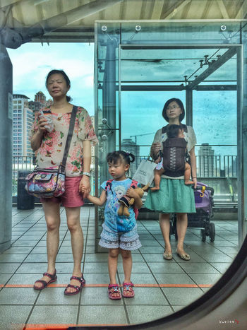 Taking Photos IPhoneography IPhone Iphonephotography Train Station The View From My Window Window People Photography Waiting Taiwan