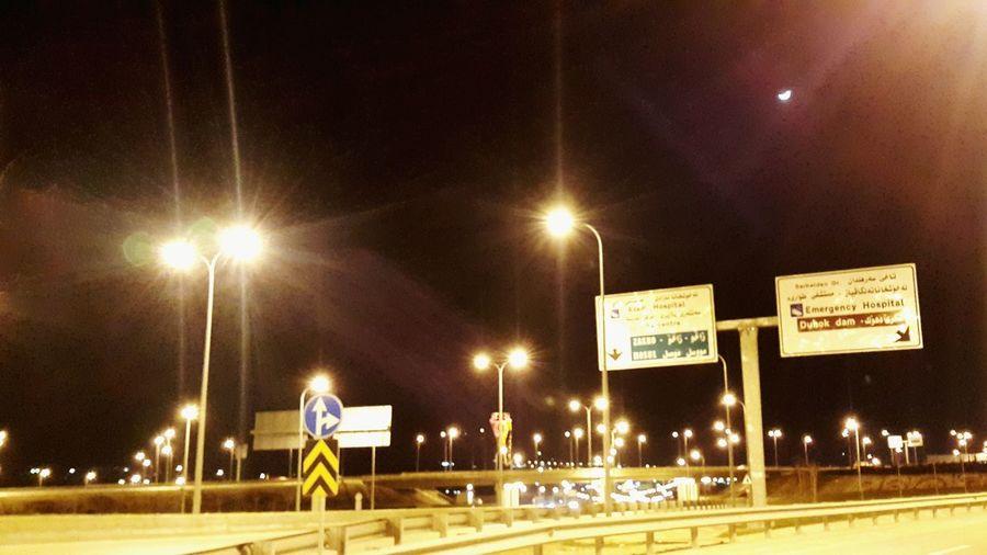 Duhok Besre Kurdistan Photo By  ABDuhoki Night Night Lights