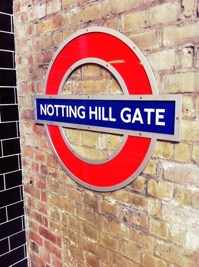Checking in at Notting Hill Gate London Checking In