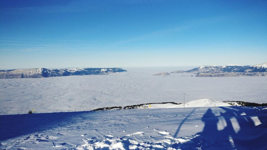 EyeEm Selects Snow Nature Cold Temperature Winter Tranquility Blue Scenics