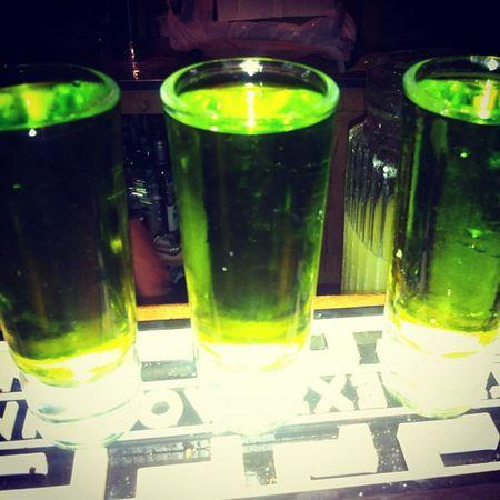 Demonio verde de Planb con los chicuelos :)