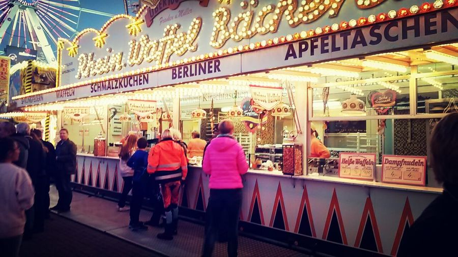 Bremer Freimarkt People Watching Streetphotography Markt