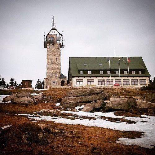 Královka Watchtower Czech Nature Weekend Trip Amazing Place Restaurant Walking Taking Photos Mountains Views
