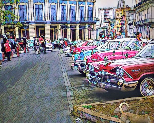 Cuban Cars Carcollection Old But Awesome Prisma Exterior Colors 🚨📽🗝