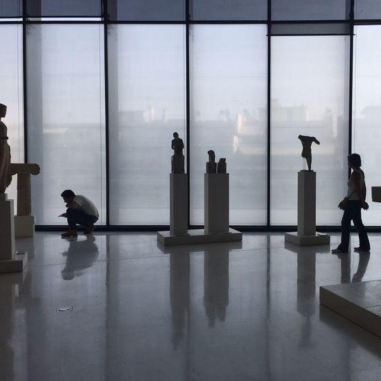 People In Museum Museum Sculpture Greece VisitGreece Visiting Museum Ancient