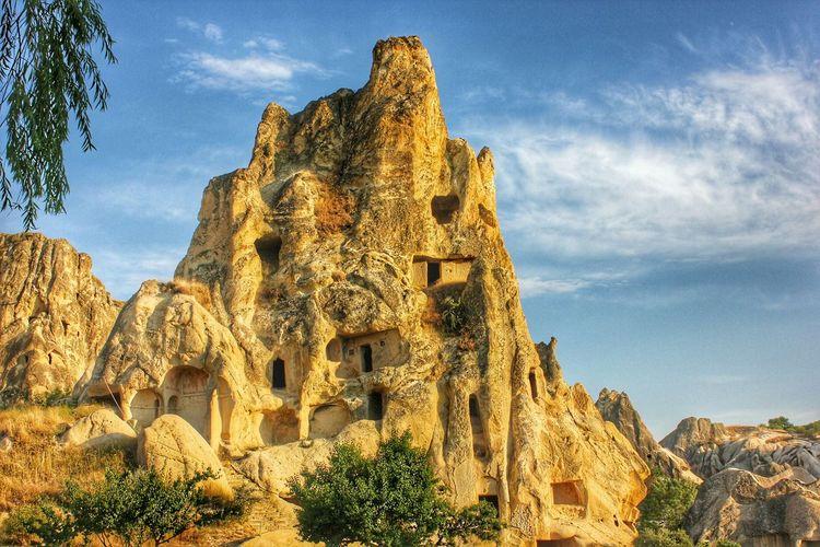 Peribacalari Göreme Turkey Nevşehir Capadoccia Cave House Oldcity