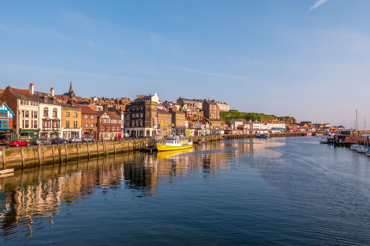 Whitby Whitby Harbour Whitby View Whitby North Yorkshire North Yorkshire North Yorkshire Coast Marina Boat Boats Ship Port Seaside Town Seaside Tourist Destination Sea Clear Sky Waterfront Nautical Vessel Architecture Reflection House Passenger Craft No People River Outdoors
