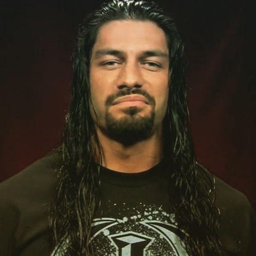 The man who'll headline Wrestlemania , @therock's cousin @wwerealromanreigns. ItsInTheFamily Royalrumble Wrestlemania .