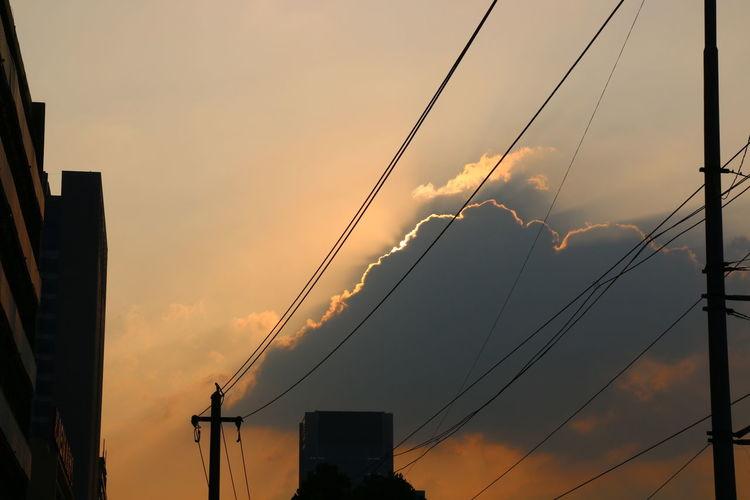 美丽的夕阳 First Eyeem Photo
