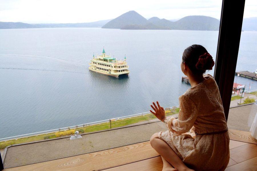 洞爺湖 Toyako Hokkaido Japan Ship Travel 20130525