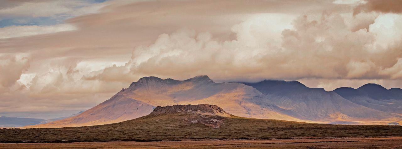Eldborg Crater in West Iceland. Eldborg Scenics Crater, Icleland, Nature Mountain Range Landscape Majestic Iceland, Volcano, Lava, Rock, Eruption, Travel, Adventure, Nature Outdoors