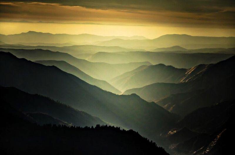 Mountains Scenery Beautiful View