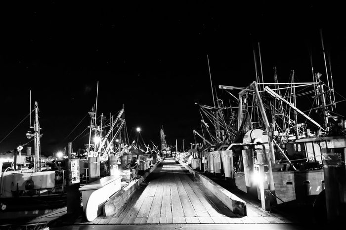 Nautical Vessel Night Transportation Moored Mode Of Transport Harbor Mast No People Outdoors Water Sky dock ocean boats