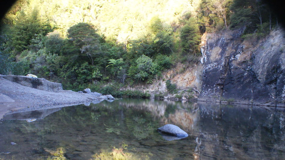 Beauty In Nature No People Outdoors Reflection Reflections In The Water River Rocks Scenics Tranquility