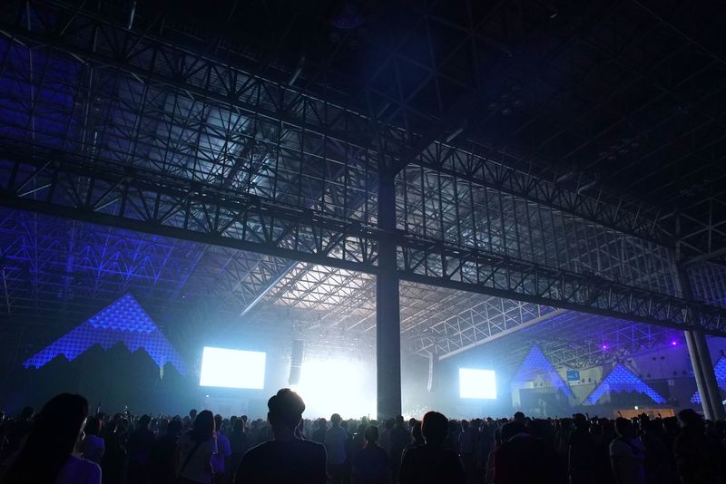 Live Music Audience Architecture Indoor Architecture Interior Geometric Shapes Geometric Architecture People And Places Large Group Of People Music Festival People Arts Culture And Entertainment Illuminated Hello World Enjoying Life Enjoying Music Breathing Space From My Point Of View 夏フェス ソニックマニア 幕張メッセ