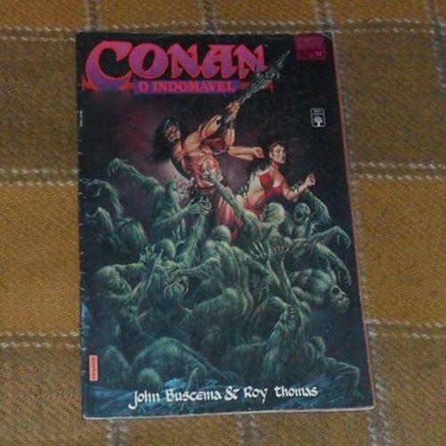 Conan-O Indomável Roythomas Johnbuscema Conanobarbaro Robertehoward conanoindomavel comics quadrinhosclassicos quadrinhos hq marvelcomics