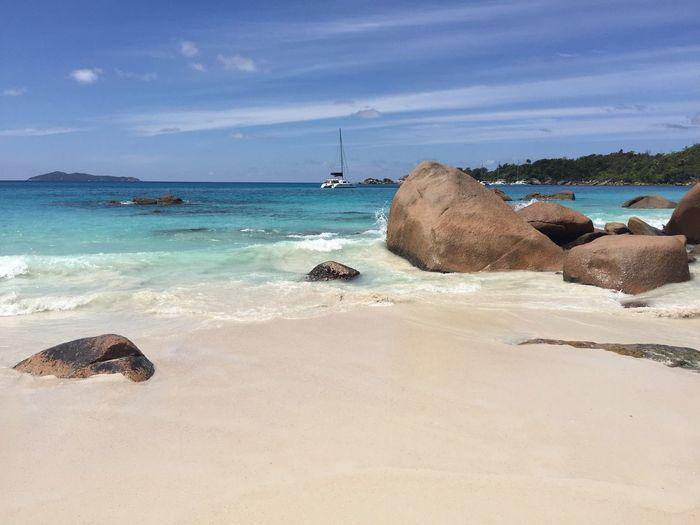 Dream beach on