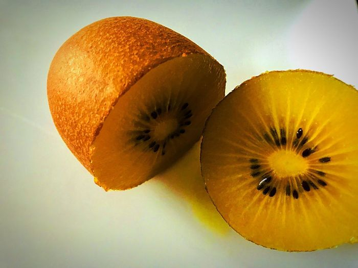 No breakfast without chinese gooseberry, kiwi fruit gold. Kiwi - Fruit Chinese Gooses Fruit Food Healthy Eating Food And Drink SLICE Cross Section Close-up Citrus Fruit Ready-to-eat Freshness Food Stories