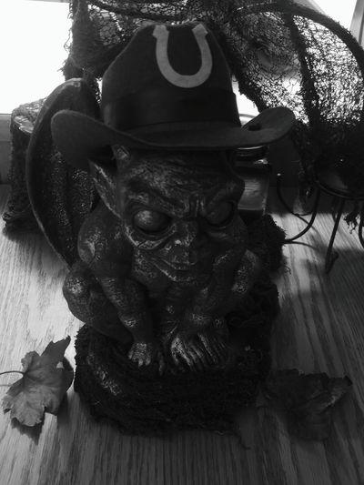 Man Made Object No People Blackandwhite Gargoyle Halloween EyeEm Houseguest Momochrome Photography
