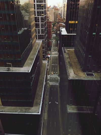 City Urban Architecture Place Exterior Modern Cityscape No People Grand Central Station New York City View From Above