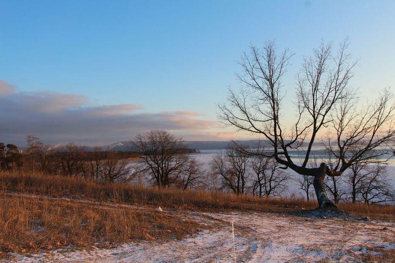 On Volga river, Togliatti, Russia. Nature Amazing View Winter Landscape Landscape_Collection Landscape_photography Beautiful Snow