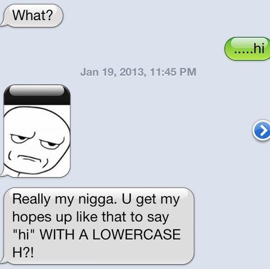 Lmfaooo , he got mad though..