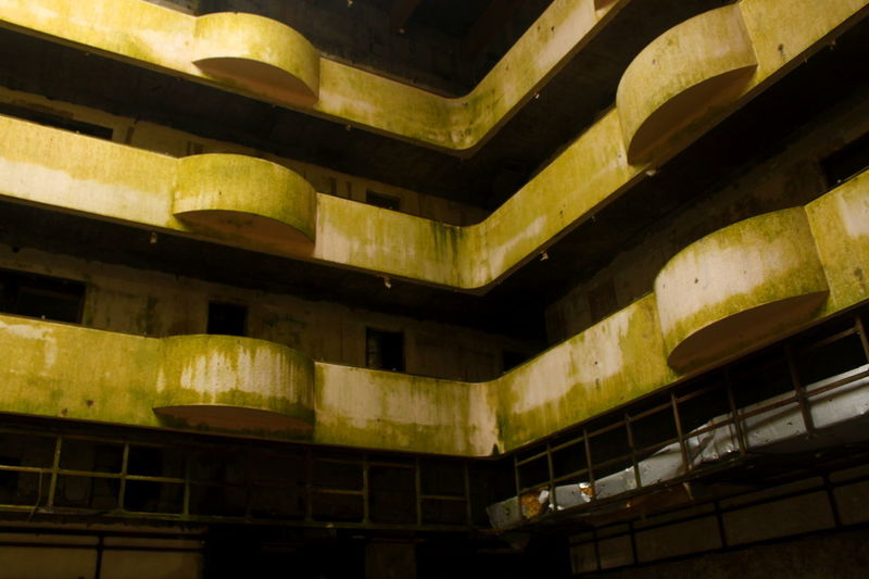 Architecture Azores Bad Condition Building Built Structure Deterioration No People Old Oldhotel Portugal