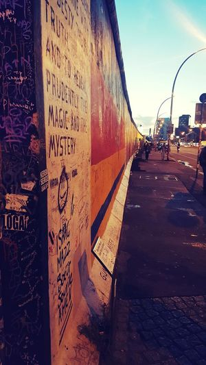 First Eyeem Photo Berlin Berlin Wall History Mystic Respect Art, Drawing, Creativity Colourful Good Shoot