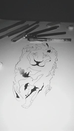 Drawing Leon Design Dibujo A Lapiz Paint Relaxing AtNight Cool EyeEm Team Eyeem Photography EyeEm Best Shots - Black + White Music Is My Life Nocolor Art ArtWork Laart