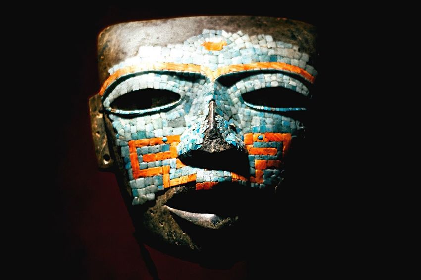 Prehispanic mask - Museum of Anthropology Cdmx Photography Mexico Culture Cultura Mask History History