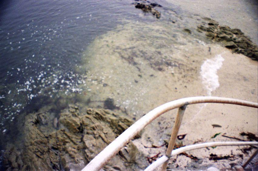 Film Koduckgirl Water High Angle View Sea Beach La Sardina Portra800 Carmel Highlands