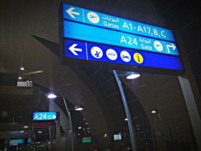 Dubai Dubaiairport Gate24