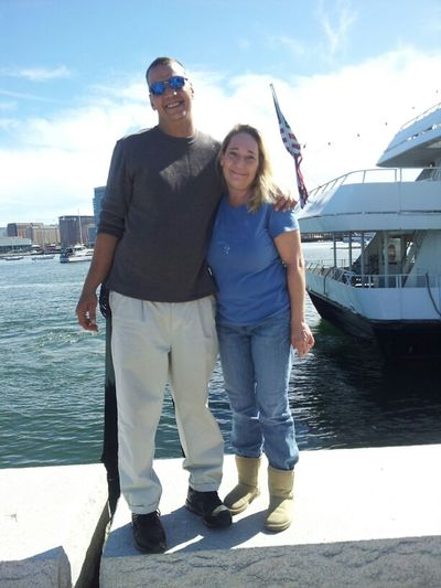 Me & Rob Waterfront Boston